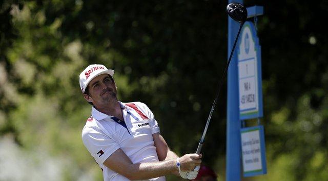 Keegan Bradley during the PGA Tour's 2014 HP Byron Nelson Championship at TPC Four Seasons Resort in Irving, Texas.