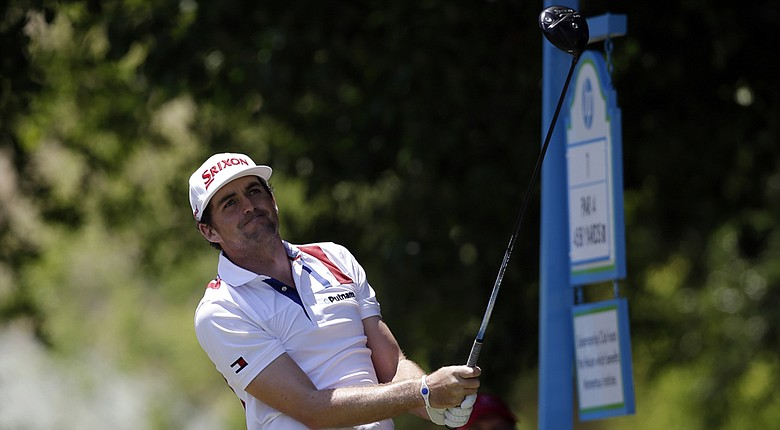 Keegan Bradley during the PGA Tour's 2014 HP Byron Nelson Championship at TPC Four Seasons Resort in Irving, Texas.