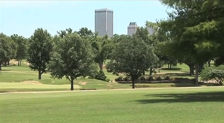 Tulsa Country Club, the site of the 2014 Women's NCAA Division 1 Championship.