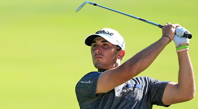 Max Homa during his win at the Web.com Tour's 2014 BMW Charity Pro-Am.