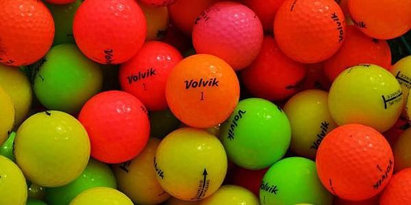 Golf balls in colors no longer just quick splash