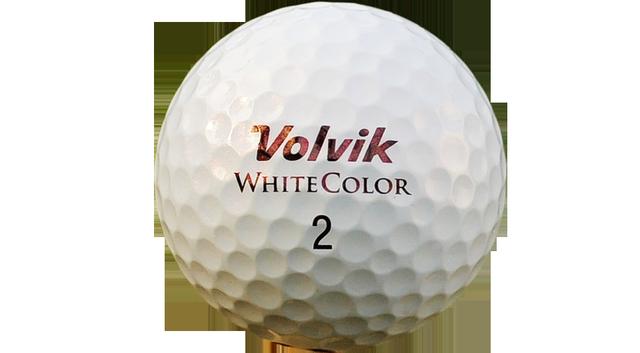 Volvik White Color S3 golf ball