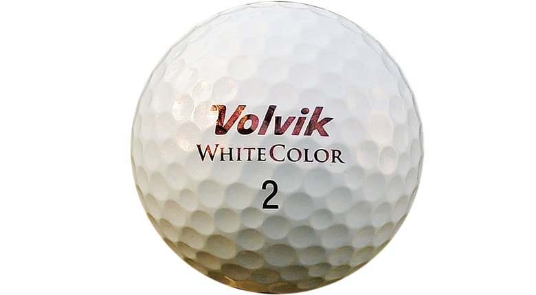 Volvik White Color S3 golf ball
