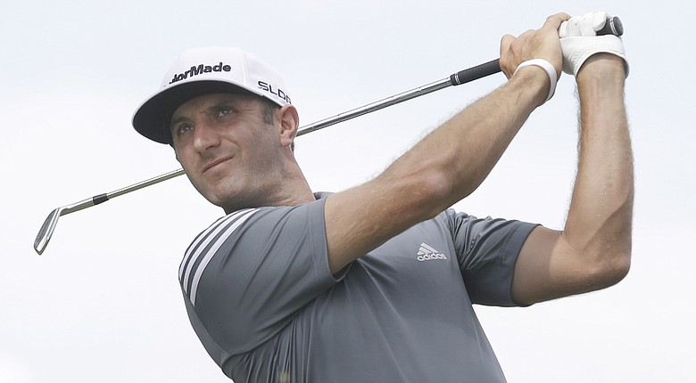 Dustin Johnson takes a one-shot lead into Friday's second round at the Crowne Plaza Invitational.