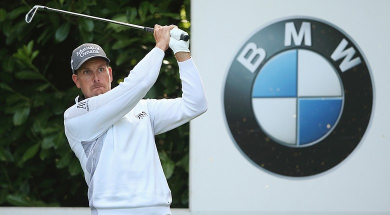 Henrik Stenson posted a 1-under 71 on Friday at the BMW PGA Championship.