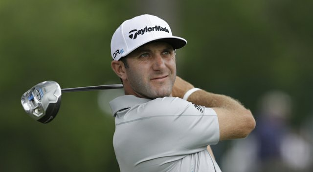 Dustin Johnson during the PGA Tour's 2014 Crowne Plaza Invitational at Colonial.