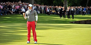 McIlroy caps tough week with dramatic BMW win