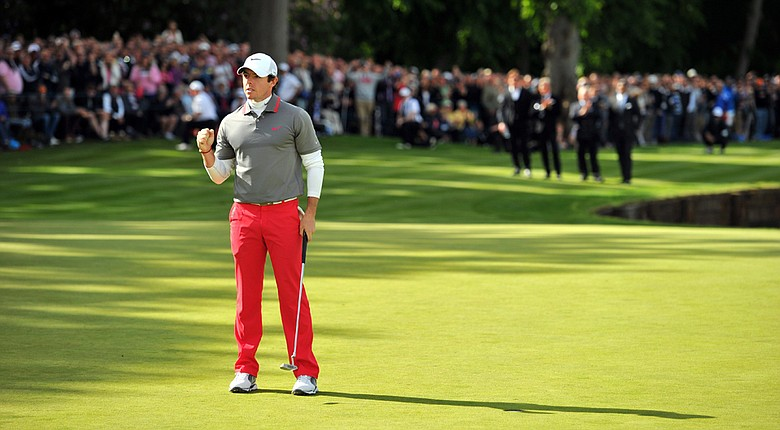 Rory McIlroy won the BMW PGA Championship by one shot after a final-round, 6-under 66.