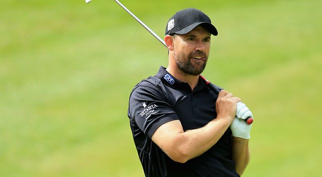 Padraig Harrington recorded rounds of 75-71 at the U.S. Open Sectional Qualifying at Walton Heath Golf Club on Monday.