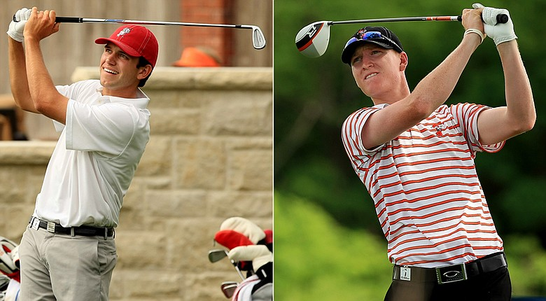 Alabama's Cory Whitsett and Oklahoma State's Jordan Niebrugge will face off in Wednesday's final match.