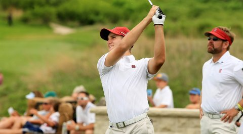Patrick Rodgers is one of two Stanford players to make the Division 1 Ping First-Team All-Americans.