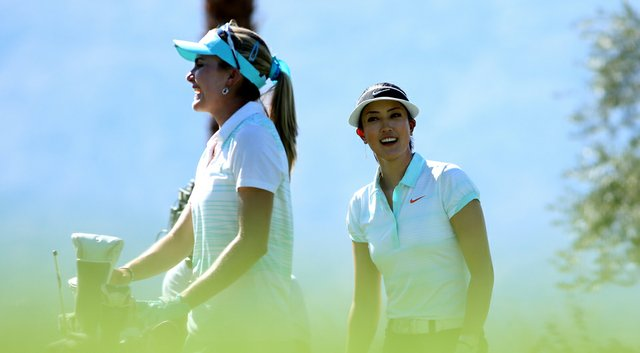 Lexi Thompson and Michelle Wie will share one of the spotlight tee times during the 2014 Shoprite LPGA Classic.