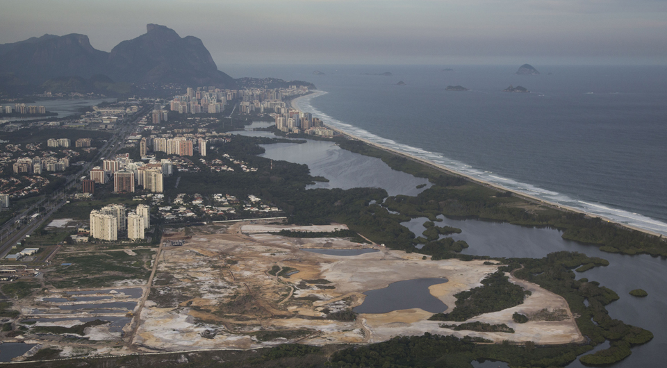 Rio 2016 Olympics organizers confirmed work on the golf course might be stopped unless the developer shows it is following environmental regulations and other requirements under Brazilian law.