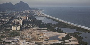 Environmental issue could halt Rio course construction
