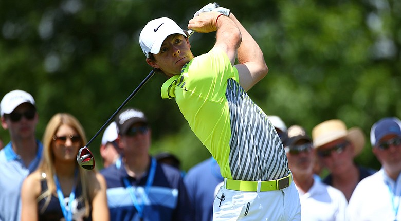Rory McIlroy is paired with Webb Simpson and Graeme McDowell for the first two rounds of the U.S. Open.