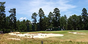 Death watch? Potential issues on Pinehurst's 9th green