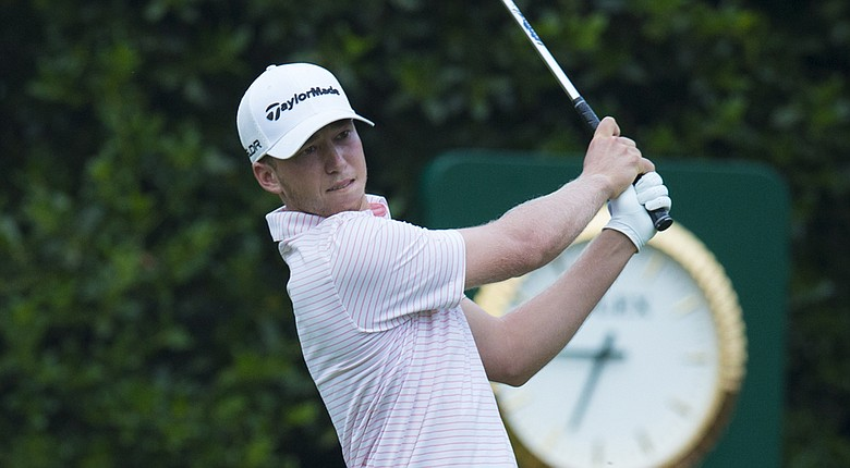 Daniel Berger during Thursday's first round of the 2014 U.S. Open at Pinehurst.