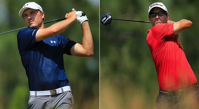 Jordan Spieth and Adam Scott played together in the third round of the 2014 U.S. Open.