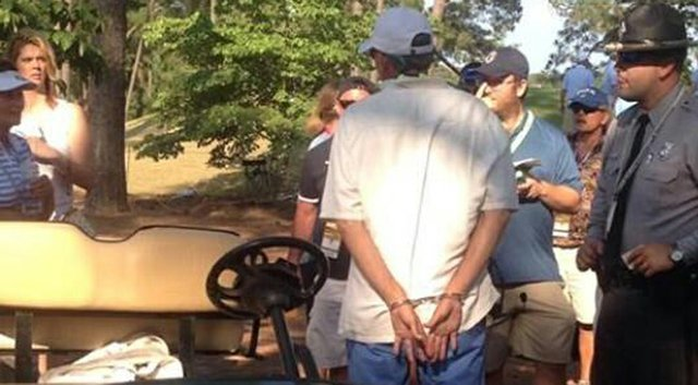 Thomas Howerton Lineberry, 59, the cart driver for NBC reporter Roger Maltbie at the U.S. Open, was arrested Saturday at Pinehurst (N.C.) Resort after a reported run-in with a state trooper.