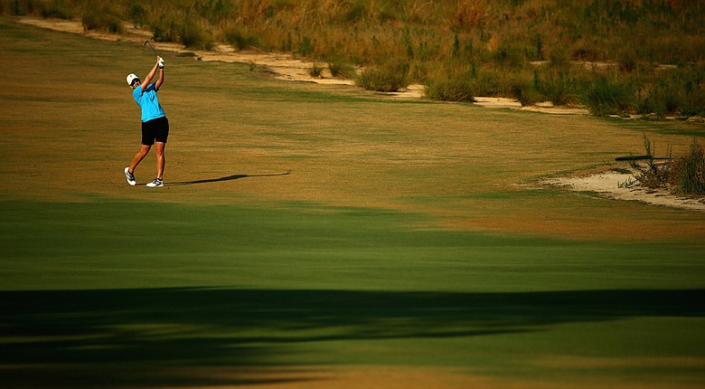 Karrie Webb and the rest of the U.S. Women's Open field knows that a new national spotlight is upon them this week at Pinehurst No. 2.