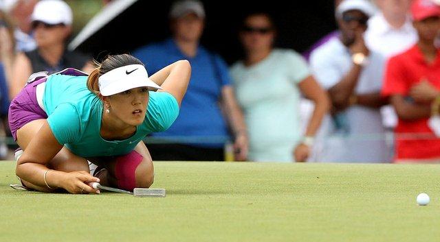 Michelle Wie had zero three-putt greens over 72 holes at the U.S. Women's Open.