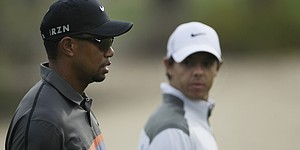 Woods, McIlroy atop Open Championship odds