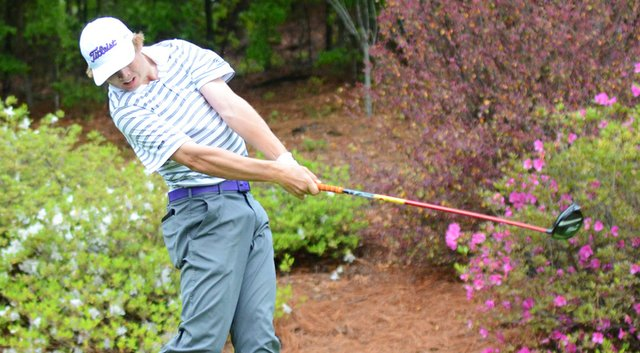 Sam Burns holds a five-shot lead after the third round at the Rolex Tournament of Champions.