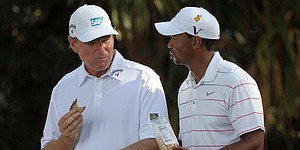 Els sees Woods breaking Nicklaus' majors record
