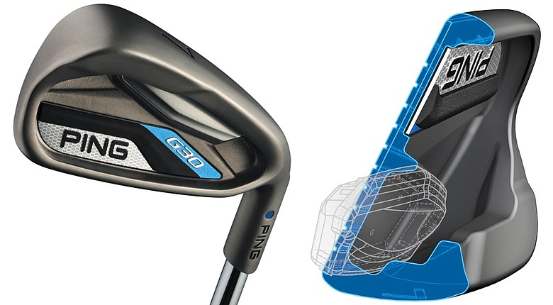 The new Ping G30 irons.