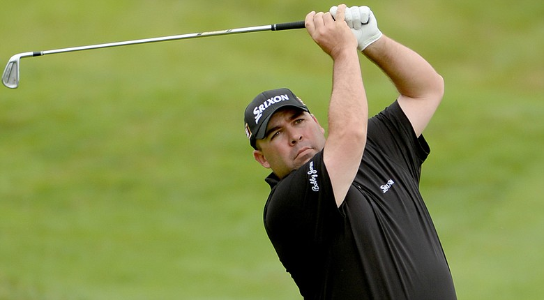 Kevin Stadler during Saturday's third round of the European Tour's 2014 Open de France.