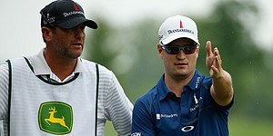 5 Things: Johnson, fill-in caddie lead Deere