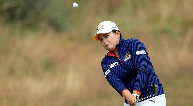 Inbee Park during Saturday's third round of the 2014 Women's British Open at Royal Birkdale.