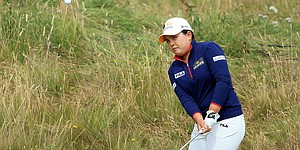 Tracker: After Ahn penalty, Park leads British