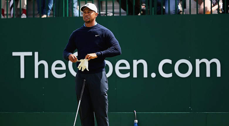 Tiger Woods will tee off at 4:04 a.m. EDT on Thursday, paired with Henrik Stenson and Angel Cabrera.