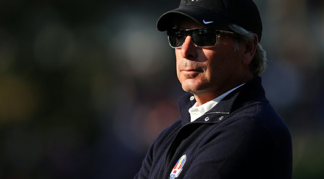 Fred Couples was an assistant captain for the U.S. during the 2012 Ryder Cup at Medinah.