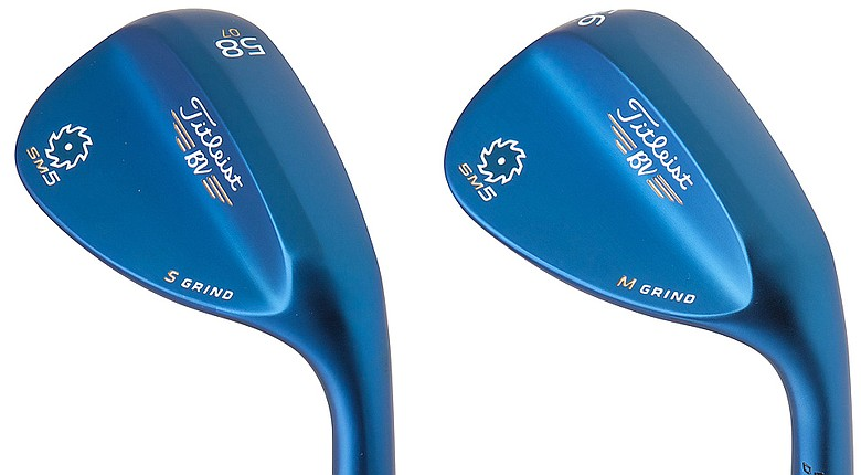 Titleist Vokey Design Spin Milled 5 wedge in indigo