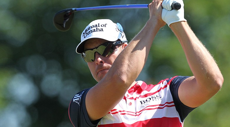 Henrik Stenson fired an even-par 72 in the first round of the Open Championship.