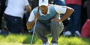 Shot-by-shot: Tiger Woods, Round 1, British Open