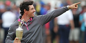 No flair needed as McIlroy seals Open win