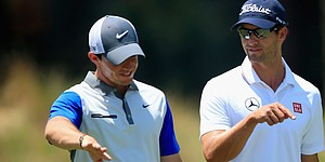 McIlroy on Scott's heels in OWGR