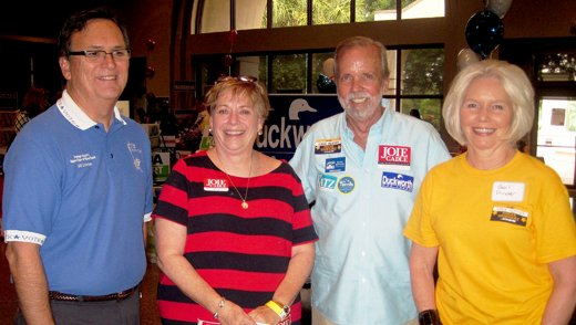 Orange County School Board incumbent Joie Cadle won by a significant margin at the Winter Park Political Mingle poll July 23.