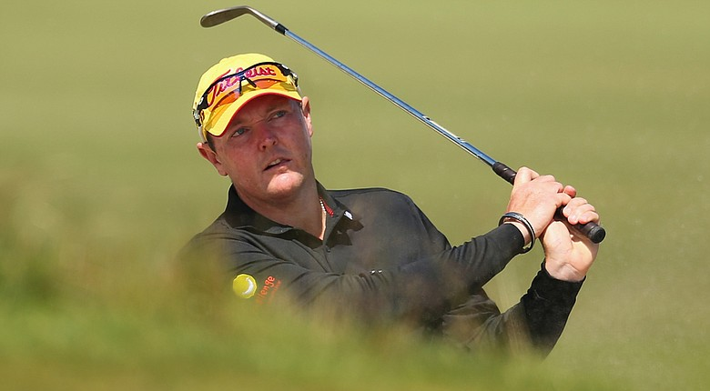 Jarrod Lyle fired a 4-under 67 at the Web.com Tour's Midwest Classic on Thursday.