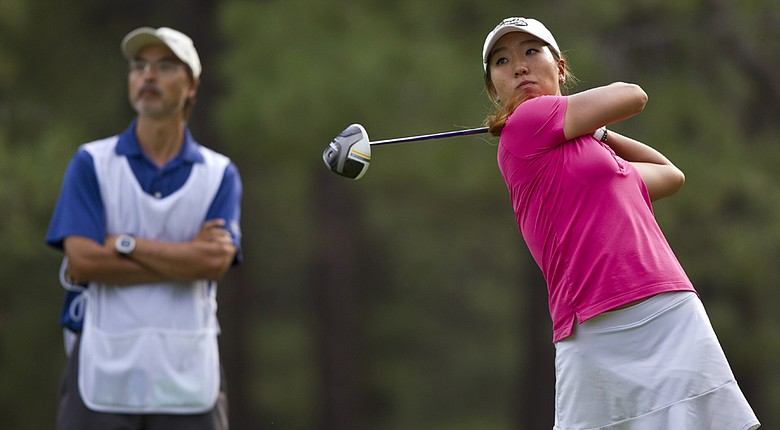 Cindy Ha defeated Brigitte Dunne with a two-putt par on the 18th hole at the U.S. Girls' Junior on Saturday.