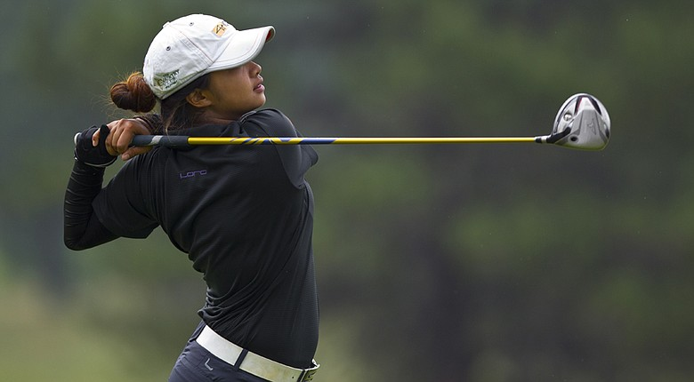 Princess Mary Superal knocked off Cindy Ha in the U.S. Girls' Junior semifinals on Friday.