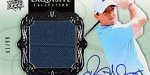 Upper Deck releasing golf trading cards