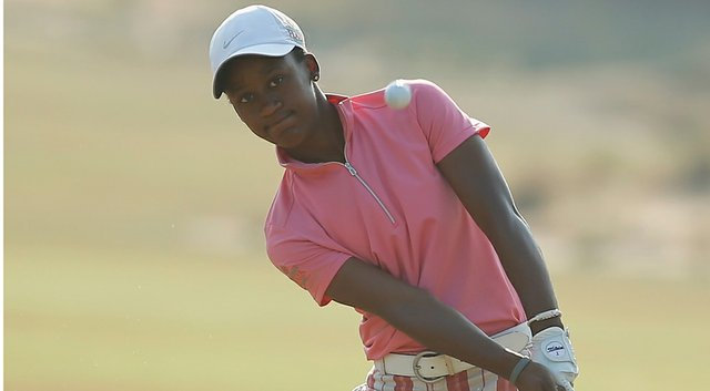 Sadena Parks became the Symetra Tour's second African-American winner in 34 years by winning the SEFCU Championship at Capital Hills on Sunday in Albany, N.Y. (shown here during the 2014 U.S. Women's Open at Pinehurst).