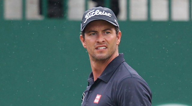 Adam Scott comes into the WGC-Bridgestone Invitational as a favorite and the World No. 1 in OWGR (shown here at the 2014 Open Championship).