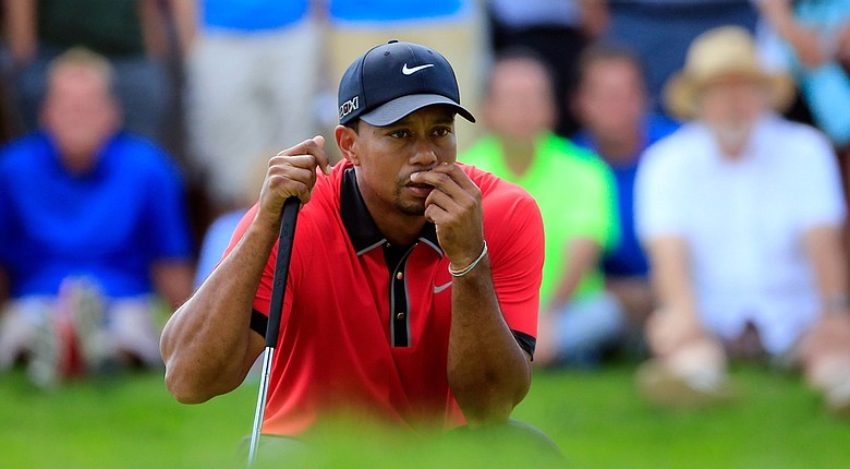 Tiger Woods will have a late Thursday tee time to begin his defense of the WGC-Bridgestone Invitational title.
