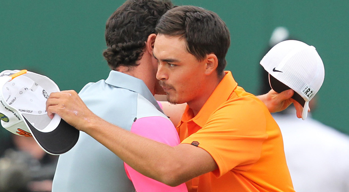 Bubba Watson, Martin Kaymer and Rory McIlroy surely wouldn't trade away their major championships this year, but Rickie Fowler has played consistently best among those three tournaments.