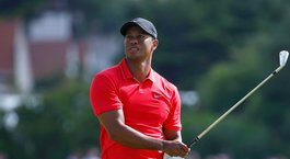 "Tiger on swing: ""I can't turn that far"""